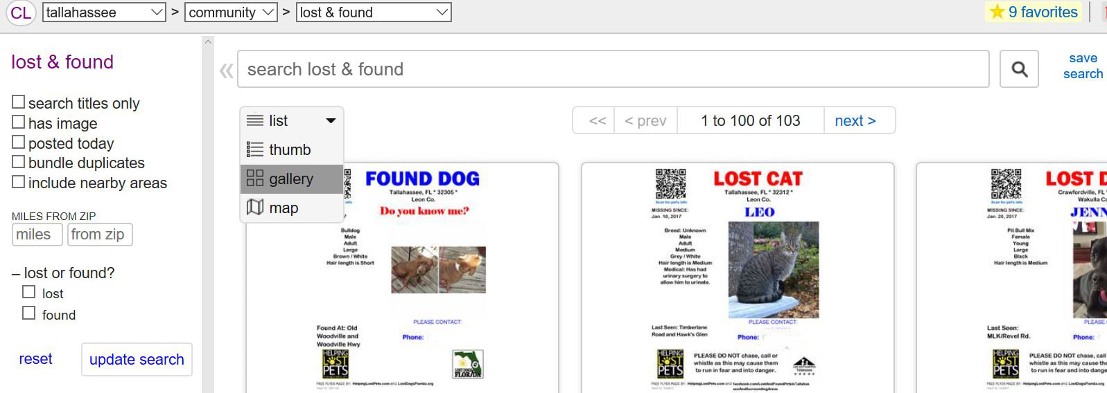 Craigslist Sarasota Bradenton >> Craigslist Florida Cities Lost Dogs Florida